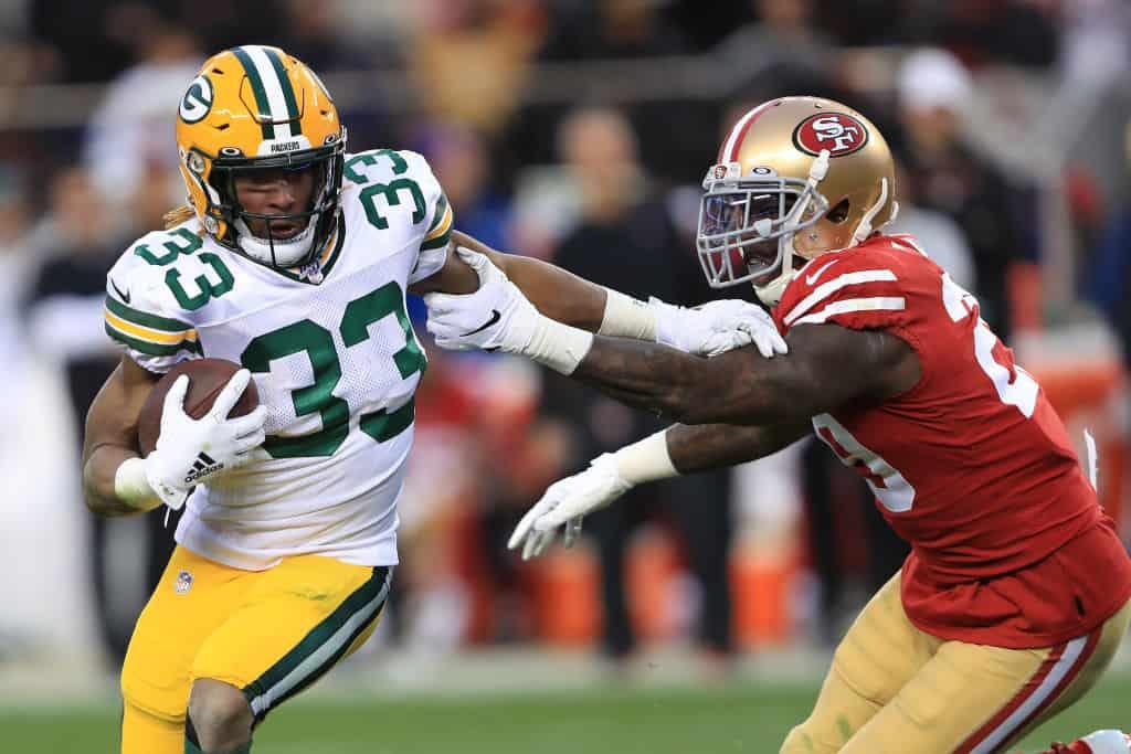 Aaron Jones Free Agent Spotlight: Will Packers keep star running back?