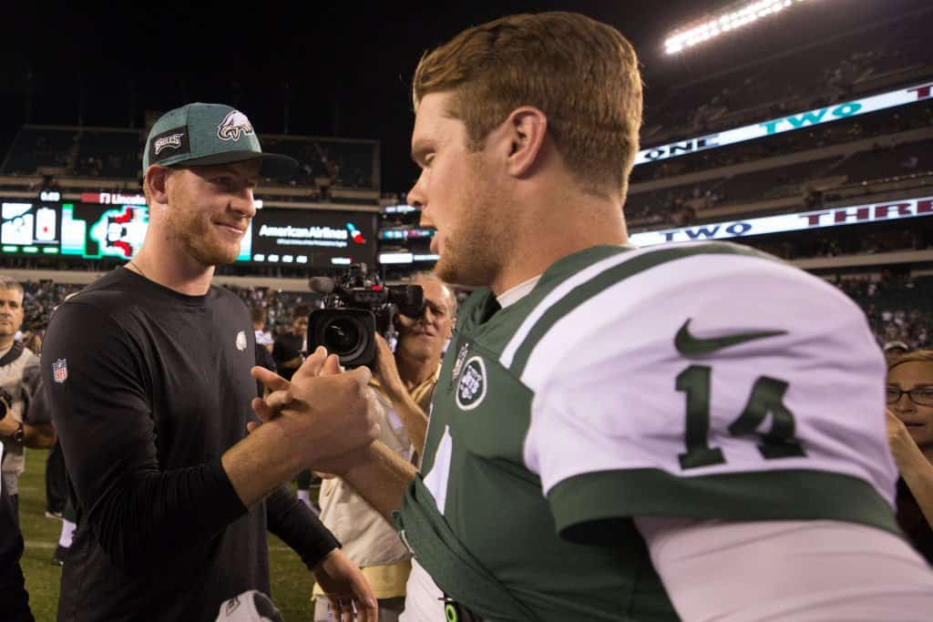Carson Wentz, Sam Darnold on the verge of being traded?