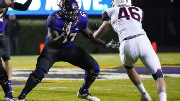 East Carolina Offensive Tackle, D'Ante Smith NFL Draft Player Profile