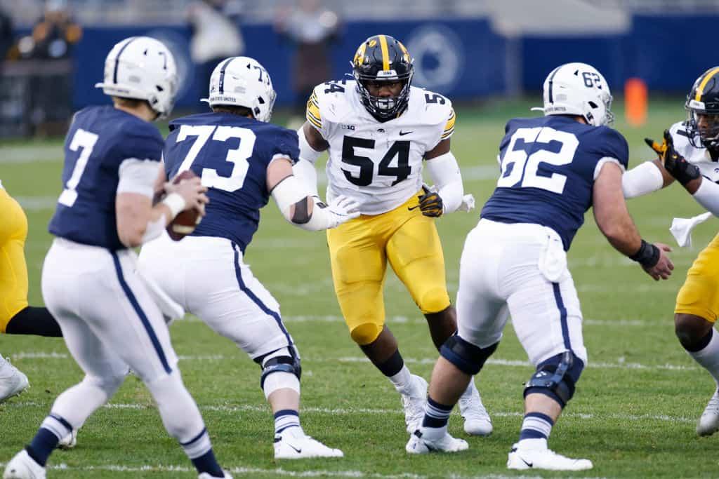 Daviyon Nixon, Defensive Tackle, Iowa - NFL Draft Player Profile