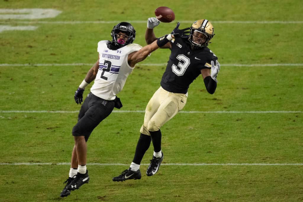 Greg Newsome II, CB, Northwestern - NFL Draft Player Profile