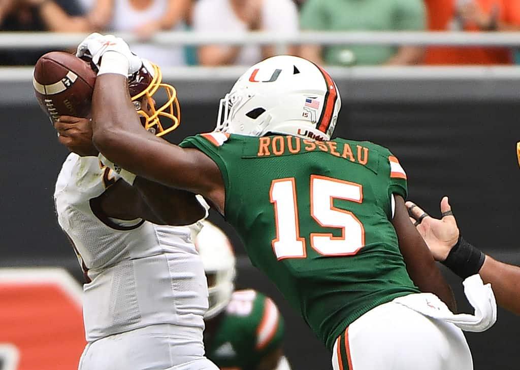 Gregory Rousseau, EDGE, Miami - NFL Draft Player Profile