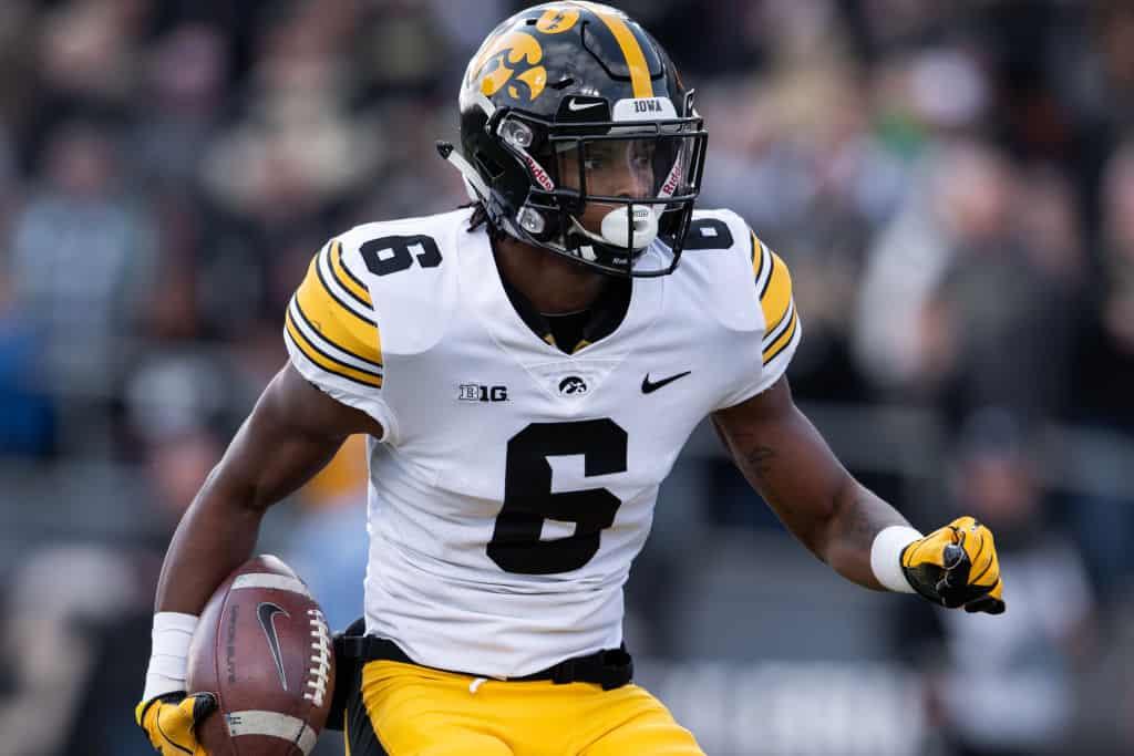 Ihmir Smith-Marsette, Wide Receiver, Iowa - NFL Draft Player Profile