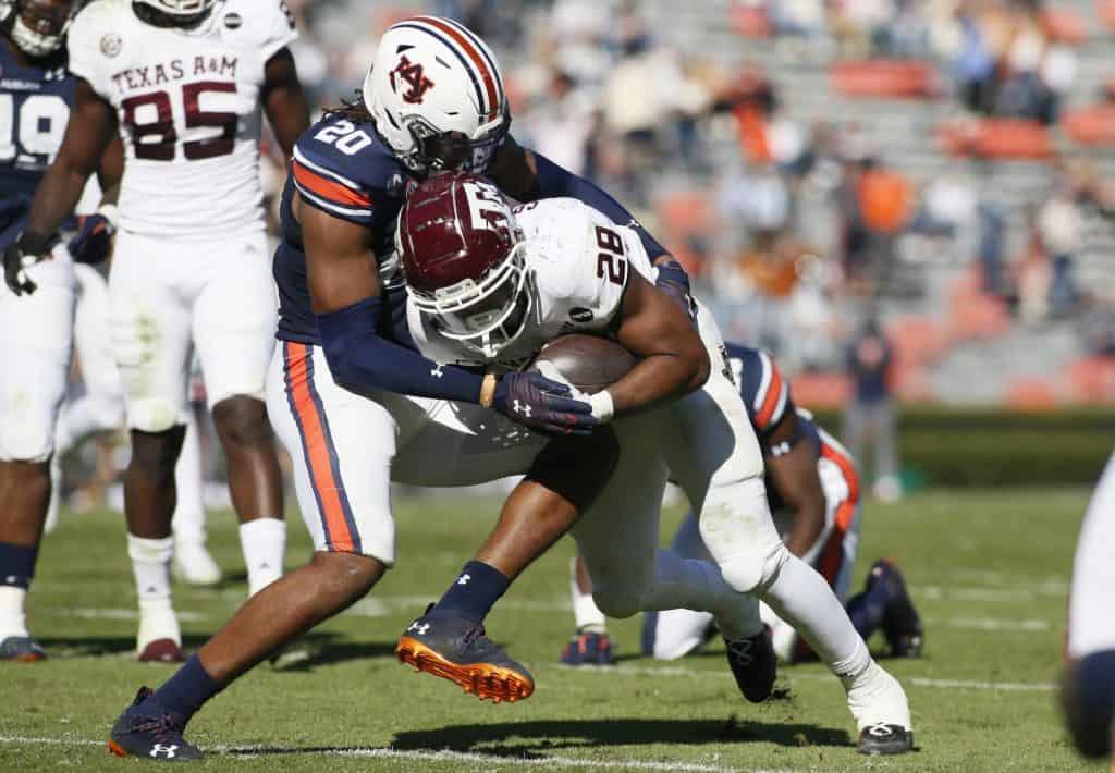 Jamien Sherwood, S, Auburn - NFL Draft Player Profile