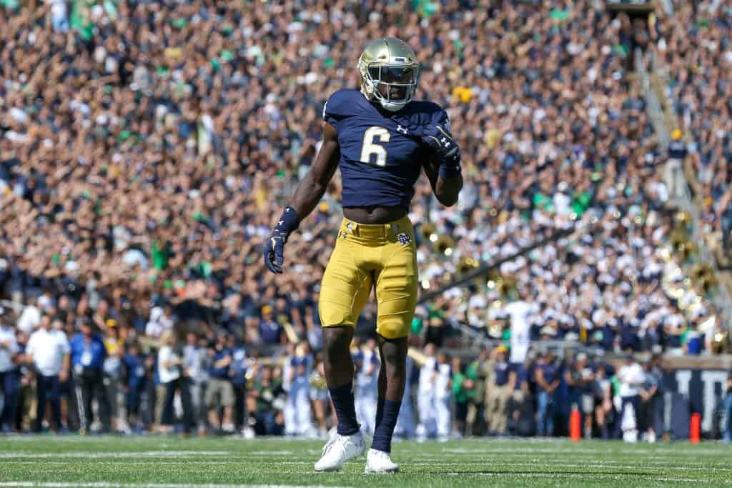 Jeremiah Owusu-Koramoah, LB, Notre Dame - NFL Draft Player Profile