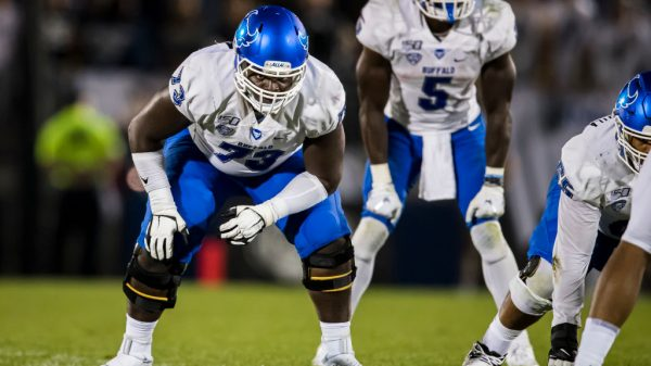 Kayode Awosika, Offensive Tackle, Buffalo - NFL Draft Player Profile