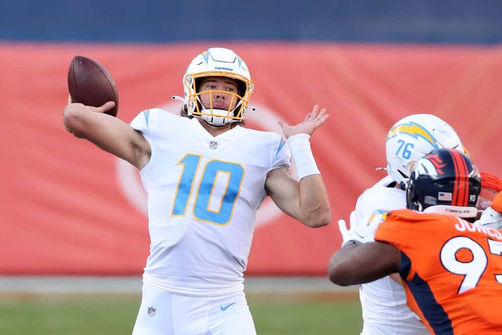 Los Angeles Chargers' 2021 opponents and strength of schedule