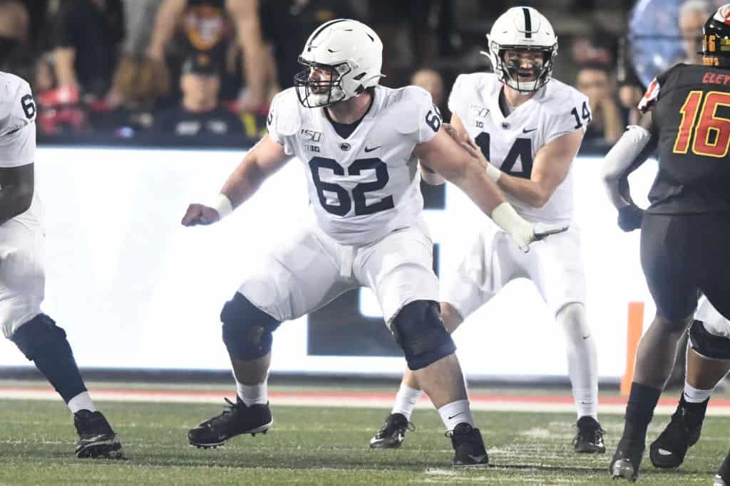 Michael Menet, C, Penn State - NFL Draft Player Profile