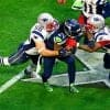 What was the most watched Super Bowl in NFL history?