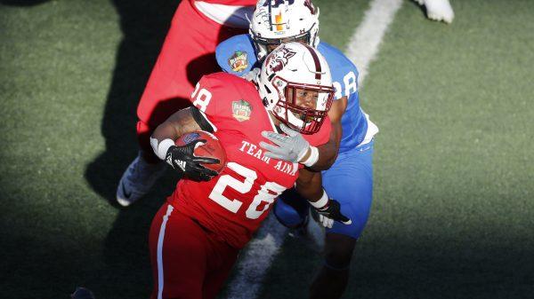 Arkansas Razorbacks Pro Day: Defensive lineman Jonathan Marshall turns heads