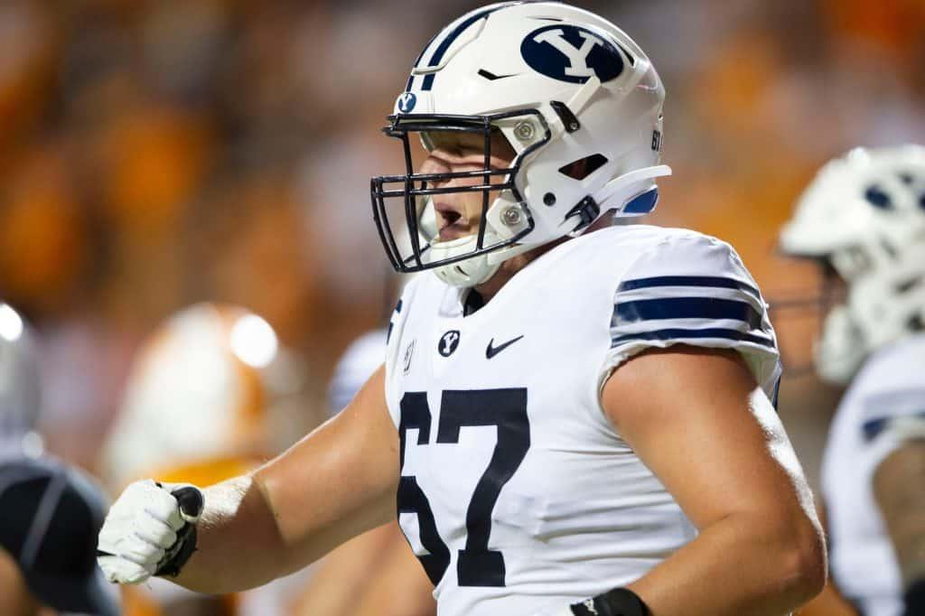 Brady Christensen, Offensive Tackle, BYU - NFL Draft Player Profile