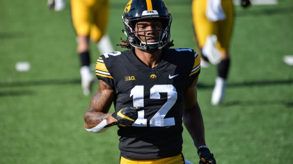 Brandon Smith, Wide Receiver, Iowa - NFL Draft Player Profile
