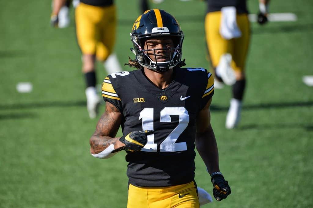 Brandon Smith, Wide Receiver, Iowa - NFL Draft Player Profile
