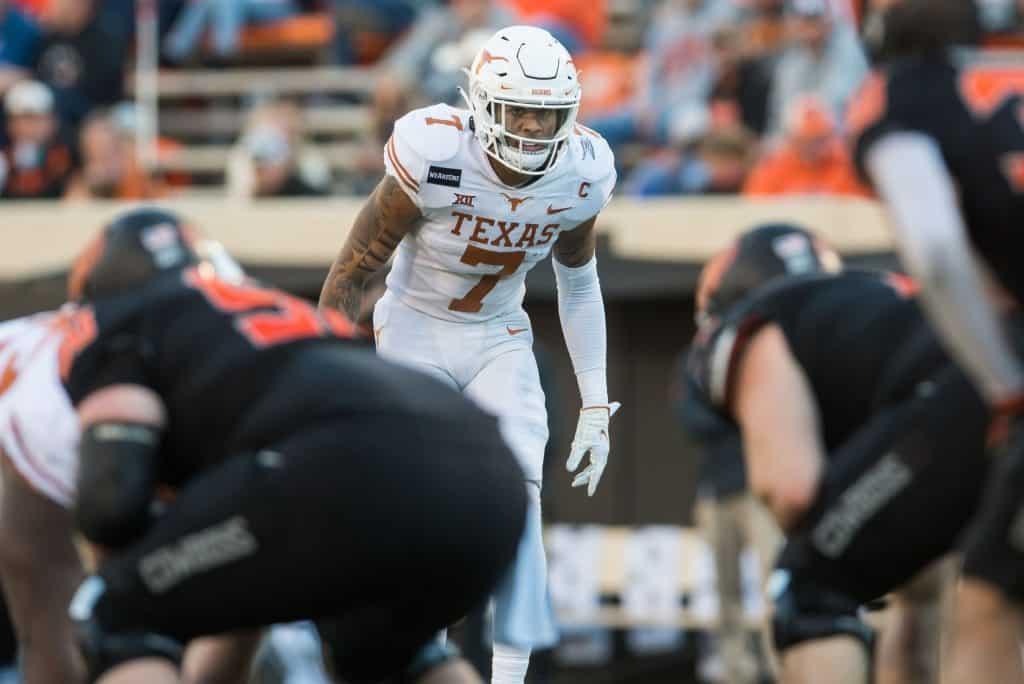 Caden Sterns, S, Texas - NFL Draft Player Profile