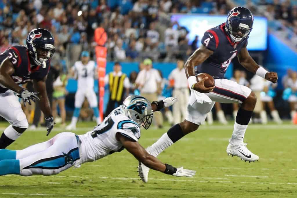 Deshaun Watson Sweepstakes: Panthers the highest bidder?