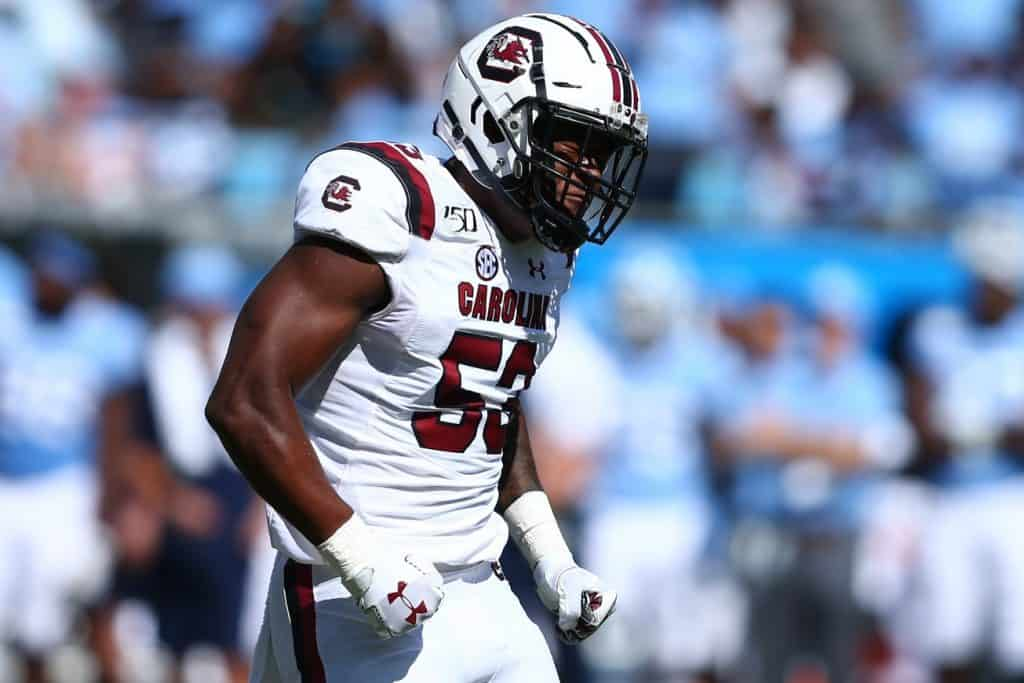 Ernest Jones, LB, South Carolina - NFL Draft Player Profile