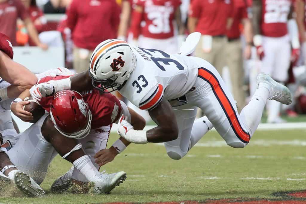 K.J. Britt, LB, Auburn - NFL Draft Player Profile