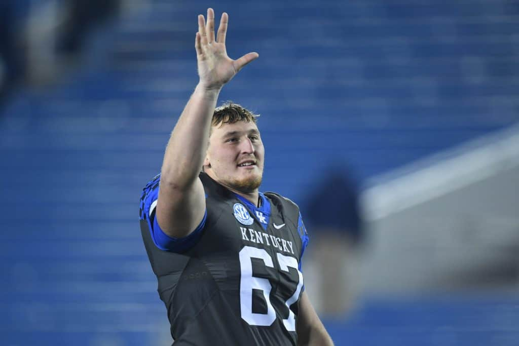 Landon Young, Offensive Tackle, Kentucky - NFL Draft Player Profile