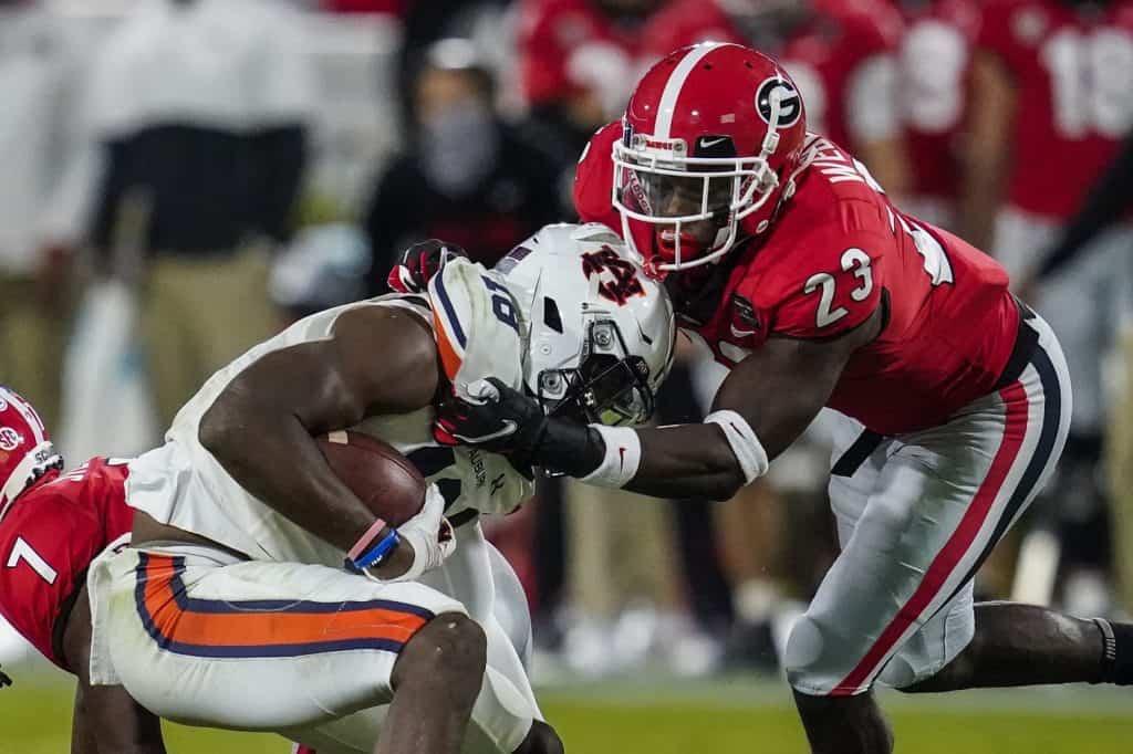 Mark Webb, S, Georgia - NFL Draft Player Profile
