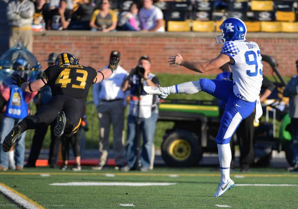 Max Duffy, P, Kentucky - NFL Draft Player Profile
