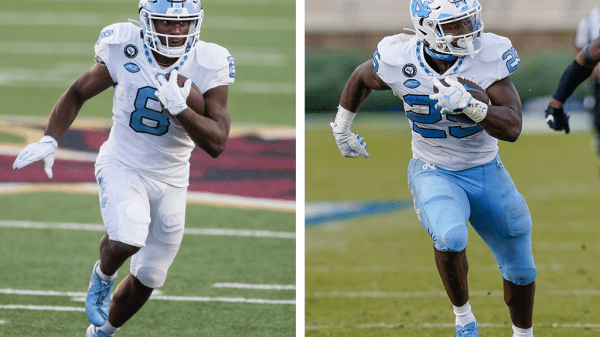 Michael Carter vs. Javonte Williams: Which UNC RB has a higher ceiling?