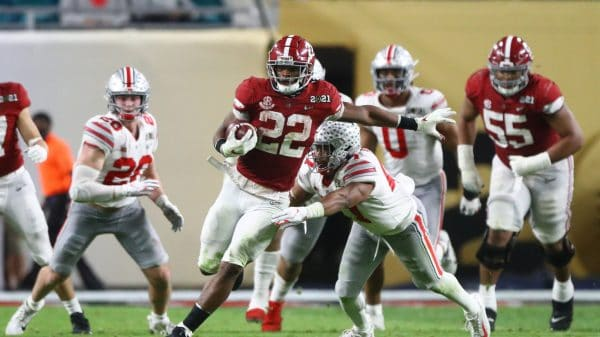 Najee Harris Draft Projection: 5 landing spots for Alabama RB