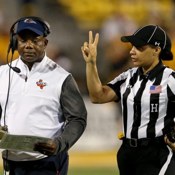 Who is Maia Chaka? NFL first female black referee