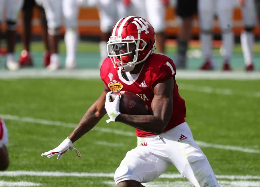 Whop Philyor, WR, Indiana - NFL Draft Player Profile