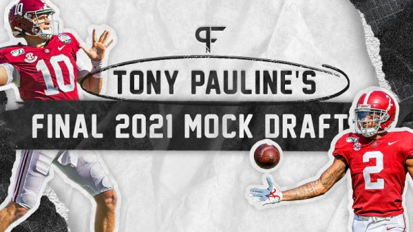 Tony Paulines Final 3-Round 2021 NFL Mock Draft