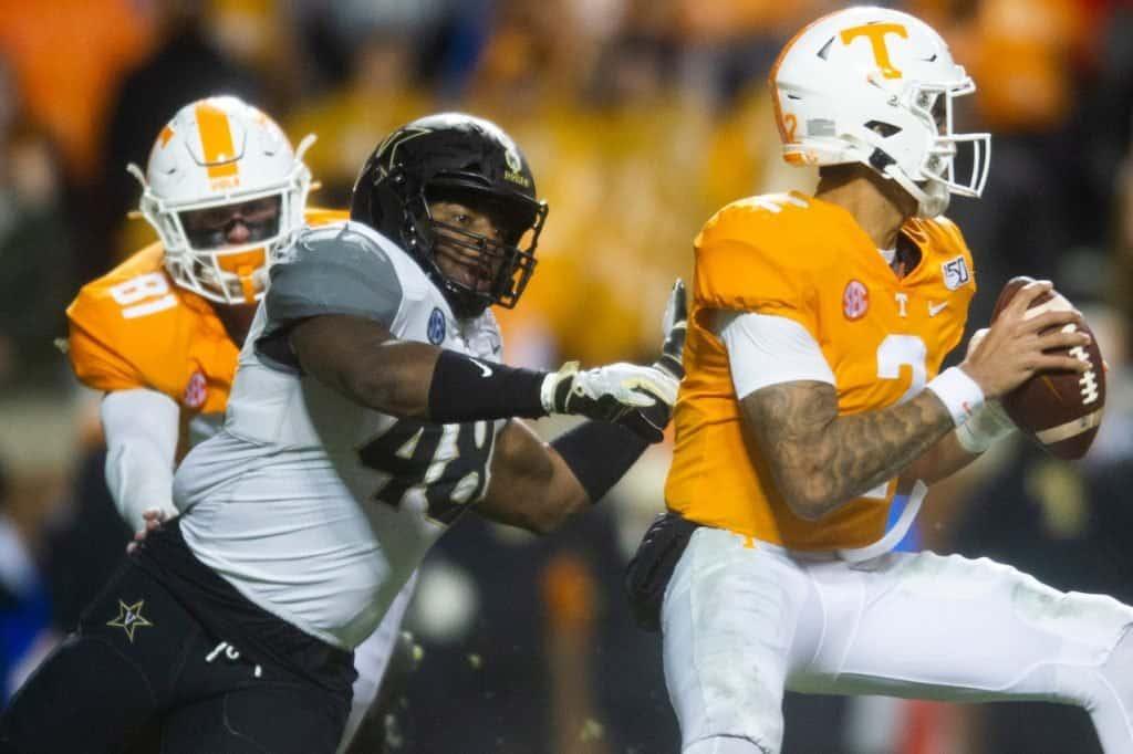 Andre Mintze, LB, Vanderbilt - NFL Draft Player Profile