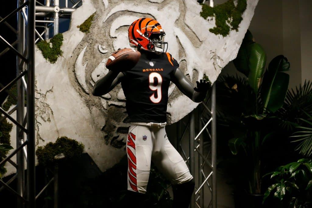 Cincinnati Bengals new nfl uniforms 2021