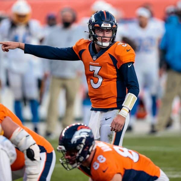 Drew Lock's 2020 struggles indicative of himself and Broncos skill positions