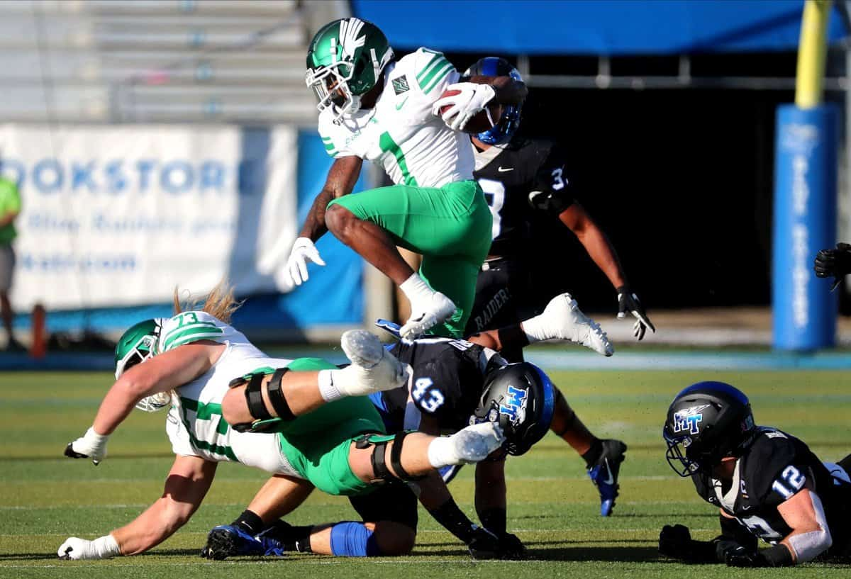 Jaelon Darden, WR, North Texas - NFL Draft Player Profile