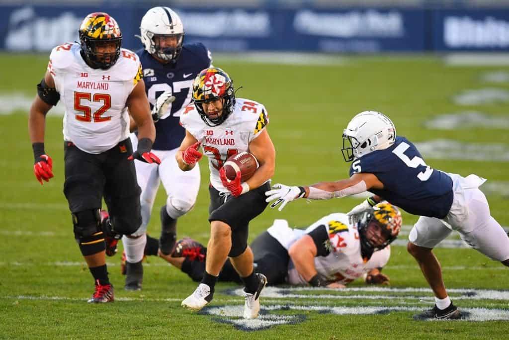 Jake Funk, RB, Maryland - NFL Draft Player Profile