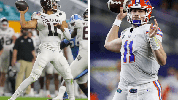 Kellen Mond vs. Kyle Trask: Will QBs go on day two?