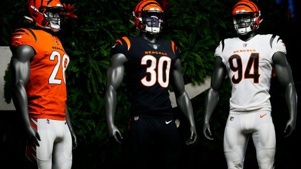 Cincinnati Bengals new uniforms released in 2021