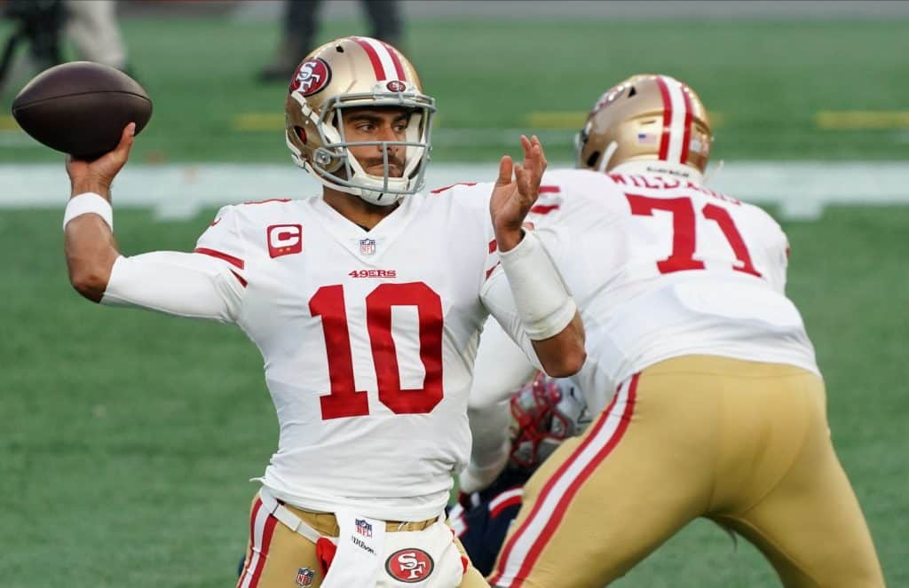 NFL Draft Rumors: Jimmy Garoppolo traded to New England if Patriots don't get QB in Round 1?