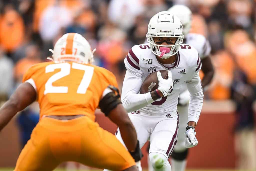 Osirus Mitchell, WR, Mississippi State - NFL Draft Player Profile