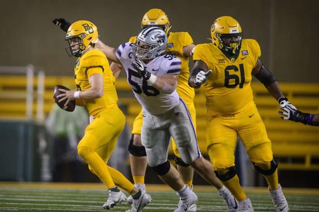 Wyatt Hubert, EDGE, Kansas State - NFL Draft Player Profile