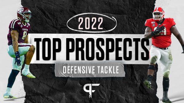 Top defensive tackles in the 2022 NFL Draft include DeMarvin Leal, Jordan Davis