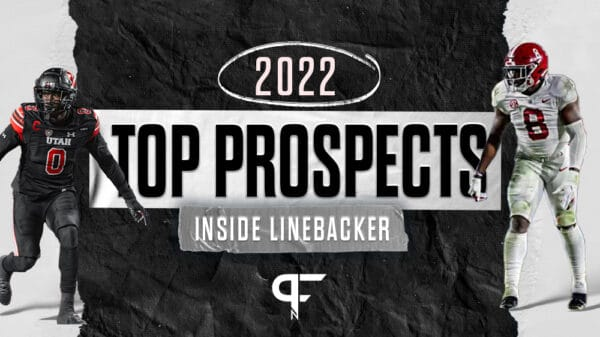 Top inside linebackers in the 2022 NFL Draft include Edefuan Ulofoshio, Ventrell Miller