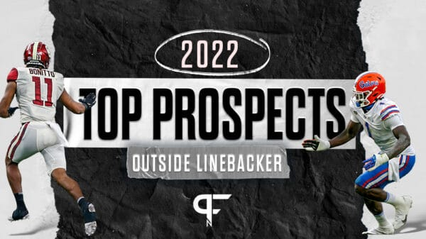 Top outside linebackers in the 2022 NFL Draft include Sam Williams, Nik Bonitto