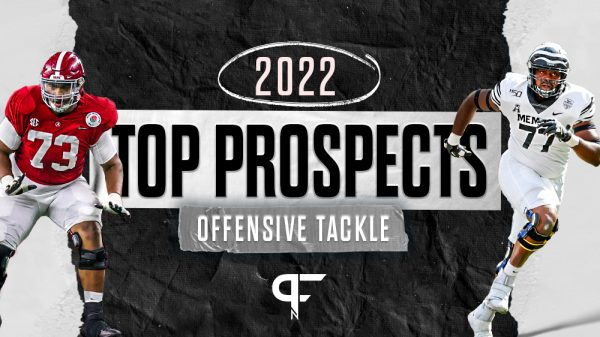Top offensive tackles in the 2022 NFL Draft include Rasheed Walker, Evan Neal