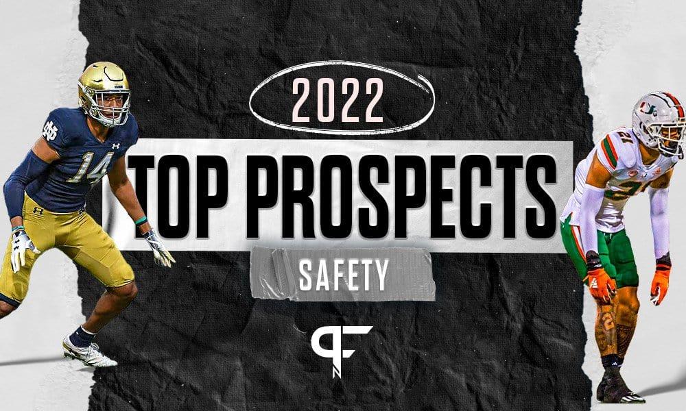 Top safeties in the 2022 NFL Draft include Kyle Hamilton, Brandon Joseph