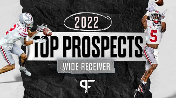 Top wide receivers in the 2022 NFL Draft include Justyn Ross, Chris Olave
