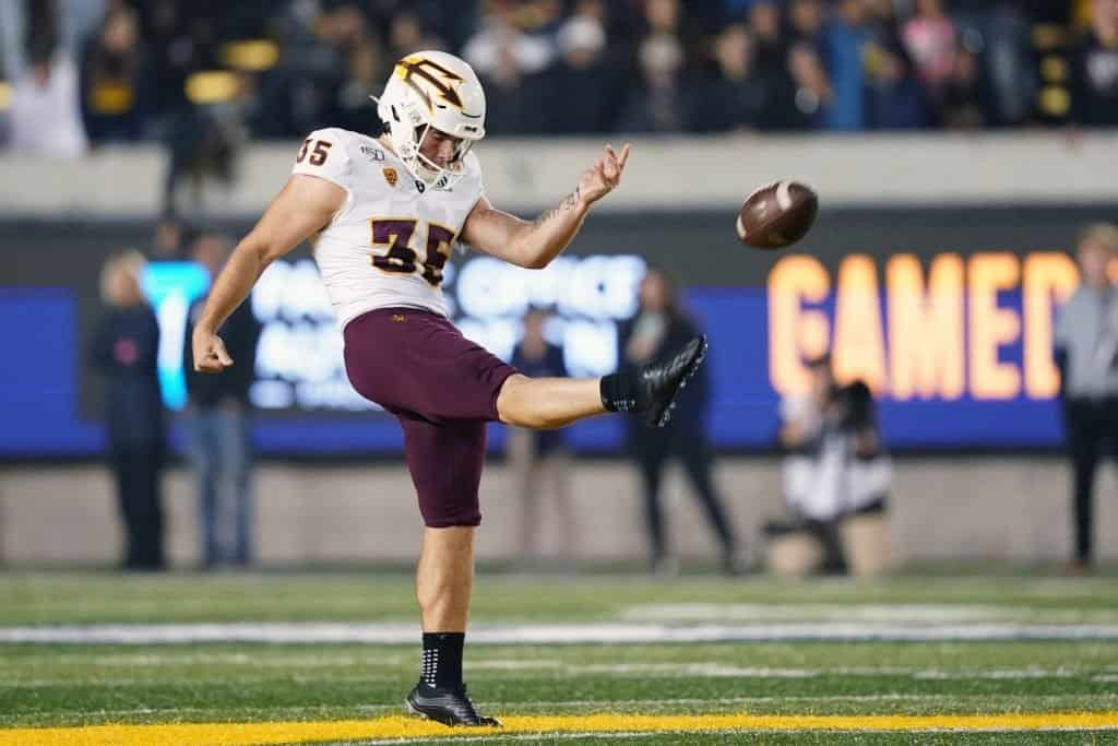 Top Kickers and Punters in the 2022 NFL Draft include Michael Turk, Cade York