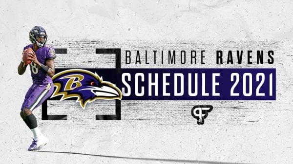 Baltimore Ravens schedule 2021