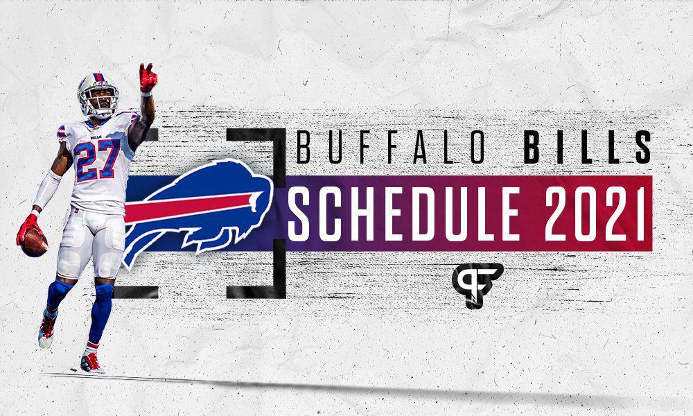 Buffalo Bills schedule 2021
