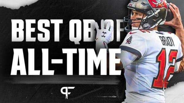 Ranking the top quarterbacks in NFL history from Tom Brady to Warren Moon