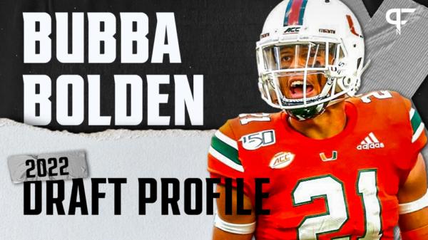 Bubba Bolden, Miami S | NFL Draft Scouting Report